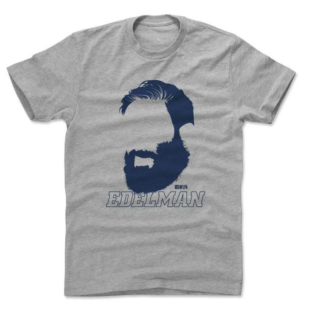 NFL ペイトリオッツ ジュリアン・エデルマン Tシャツ Player Art Cotton T-Shirt 500Level