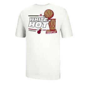 NBA Tシャツ ヒート 2013 NBA Tシャツ チャンピオンズ ロッカー ルーム アディダス/Adidas ホワイト