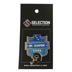 NFL ベアーズ 2006 NFC カンファレンス チャンピオンズ ピンバッチ【1910価格変更】