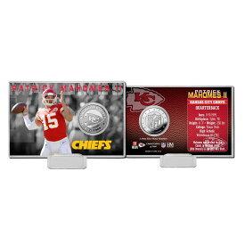 NFL チーフス パトリック マホームズ II コイン カード ハイランドミント/The Highland Mint シルバー
