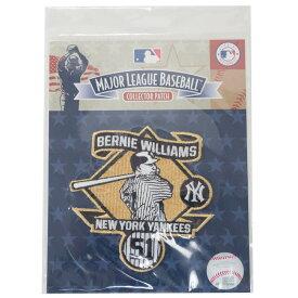 MLB バーニー・ウィリアムス ヤンキース Bewnie Williams Collection パッチ ワッペン The Emblem Source