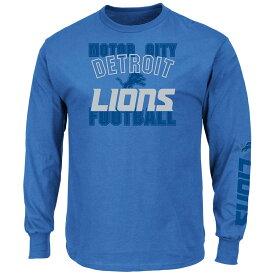 NFL ライオンズ Tシャツ マジェスティック/Majestic ブルー