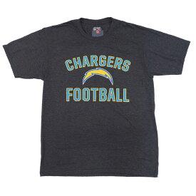 NFL チャージャース Tシャツ マジェスティック/Majestic ダークグレーヘザー【OCSL】