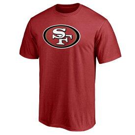 スーパーボウル進出 NFL 49ers Tシャツ マジェスティック/Majestic レッド