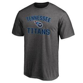 NFL タイタンズ Tシャツ マジェスティック/Majestic ダークグレーヘザー【OCSL】