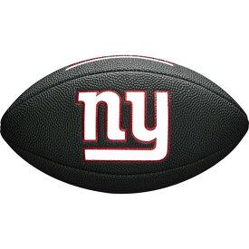 NFL ジャイアンツ 9 ミニ ソフト タッチ ボール Wilson ウィルソン ブラック