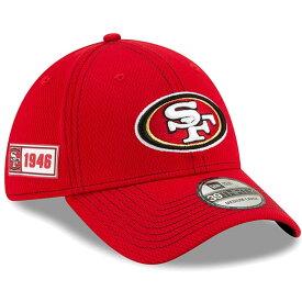 NFL 49ers キャップ/帽子 2019 サイドライン Road 39THIRTY Flex Hat ニューエラ/New Era