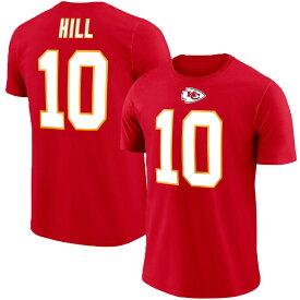 チーフス タイリーク・ヒル NFL Tシャツ ネーム&ナンバー マジェスティック/Majestic レッド【OCSL】