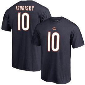 ベアーズ ミッチェル・トゥルビスキー NFL Tシャツ ネーム&ナンバー エリジブルレシーバー3 マジェスティック/Majestic ネイビー【OCSL】