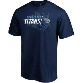 タイタンズ NFL Tシャツ ジオ ドリフト Tシャツ マジェスティック/Majestic【OCSL】