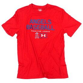 MLB エンゼルス Tシャツ シティ プラウド テック アンダーアーマー/UNDER ARMOUR レッド【OCSL】