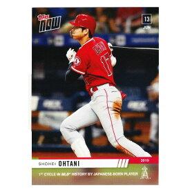 MLB 大谷翔平 ロサンゼルス・エンゼルス トレーディングカード/スポーツカード サイクルヒット カード Topps