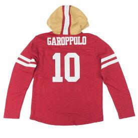 NFL ジミー・ガロポロ 49ers パーカー/フーディー レッドゾーン プルオーバー プレイヤー【1910価格変更】