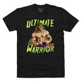 WWE アルティメット・ウォリアー Tシャツ 500Level ブラック【OCSL】