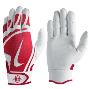 Nike BB ハラチ エッジ バッティング グローブ 手袋 ナイキ/Nike ホワイト ユニバーシティーレッド ホワイト N.BG.01.195.SL
