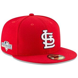 MLB St. Louis Cardinals cap hat postseason side patch 59FIFTY new gills /New Era
