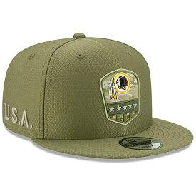 NFL レッドスキンズ キャップ/帽子 2019 サルート トゥ サービス サイドライン 9FIFTY ニューエラ/New Era オリーブ