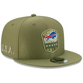 NFL ビルズ キャップ/帽子 2019 サルート トゥ サービス サイドライン 9FIFTY ニューエラ/New Era オリーブ