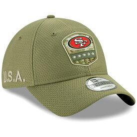 NFL 49ers キャップ/帽子 2019 サルート トゥ サービス サイドライン 9TWENTY ニューエラ/New Era オリーブ