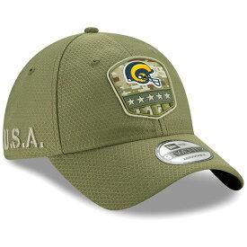 NFL ラムズ キャップ/帽子 2019 サルート トゥ サービス サイドライン 9TWENTY ニューエラ/New Era オリーブ