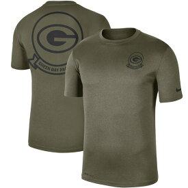 NFL パッカーズ Tシャツ 2019 サルート トゥ サービス サイドライン シール レジェンド パフォーマンス ナイキ/Nike オリーブ