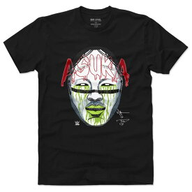 WWE アスカ Tシャツ プレーヤー アート コットン 500Level ブラック【OCSL】