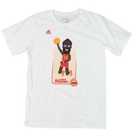 NBA Tシャツ ジェームス・ハーデン ヒューストン・ロケッツ レイアップ アディダス/Adidas ホワイト