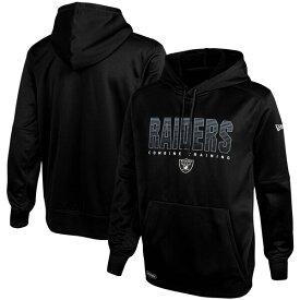 NFL レイダース パーカー/フーディー コンバイン チーム プライド プルオーバー ニューエラ/New Era ブラック