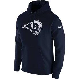 NFL ラムズ パーカー/フーディー プルオーバー フリース クラブ ナイキ/Nike ネイビー 881632-420