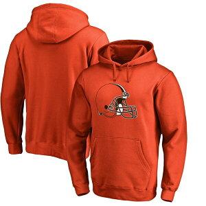 NFL ブラウンズ パーカー/フーディー プライマリー ロゴ オレンジ