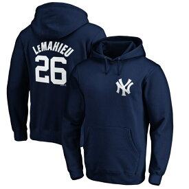 MLB DJ・ルメイユ ヤンキース パーカー/フーディー ネーム & ナンバー プルオーバー マジェスティック/Majestic ネイビー