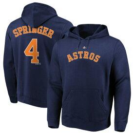MLB ジョージ・スプリンガー アストロズ パーカー/フーディー ネーム & ナンバー プルオーバー マジェスティック/Majestic ネイビー