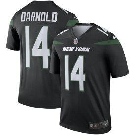 NFL サム・ダーノルド ジェッツ ユニフォーム/ジャージ カラーラッシュ レジェンド ナイキ/Nike スティールブラック