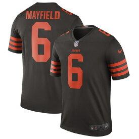 NFL ベイカー・メイフィールド ブラウンズ ユニフォーム/ジャージ カラーラッシュ レジェンド ナイキ/Nike ブラウン