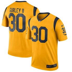 NFL トッド・ガーリー ラムズ ユニフォーム/ジャージ カラーラッシュ レジェンド ナイキ/Nike ゴールド