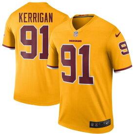 NFL ライアン・ケリガン レッドスキンズ ユニフォーム/ジャージ カラーラッシュ レジェンド ナイキ/Nike ゴールド
