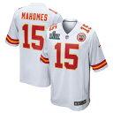スーパーボウル進出 NFL パトリック・マホームズ チーフス ユニフォーム/ジャージ 第54回スーパーボウル出場 ゲーム ナイキ/Nike ホワイト