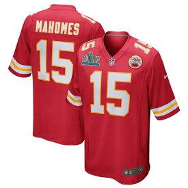 スーパーボウル進出 NFL パトリック・マホームズ チーフス ユニフォーム/ジャージ 第54回スーパーボウル出場 ゲーム ナイキ/Nike レッド