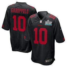 NFL ジミー・ガロポロ 49ers ユニフォーム/ジャージ 第54回スーパーボウル出場 ゲーム イベント ナイキ/Nike ブラック【OCSL】