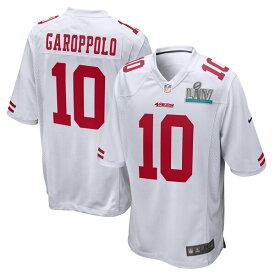 NFL ジミー・ガロポロ 49ers ユニフォーム/ジャージ 第54回スーパーボウル出場 ゲーム イベント ナイキ/Nike ホワイト【OCSL】