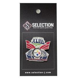 NFL スティーラーズ ピンズ ピンバッチ Super Bowl XLIII Champions Pin : Champion ウィンクラフト/WinCraft