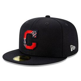 MLB クリーブランド・インディアンス キャップ/帽子 2020 キャンプ バッティング プラクティス 59FIFTY ニューエラ/New Era ゲーム
