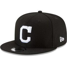 MLB クリーブランド・インディアンス キャップ/帽子 ベーシック 9FIFTY スナップバック ニューエラ/New Era ブラック