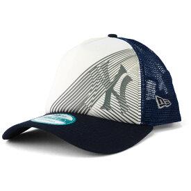 MLB ニューヨーク・ヤンキース キャップ/帽子 オークリー 9FORTY トラッカー メッシュ ニューエラ/New Era ネイビー/ホワイト