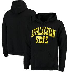 カレッジ パーカー NCAA アパラチア州立大学 マウンテニアーズ フーディー Basic Arch プルオーバー ブラック