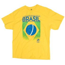SOCCER サッカーブラジル代表 Tシャツ コパ・アメリカ 2016 ブラジル Fifth Sun イエロー【OCSL】