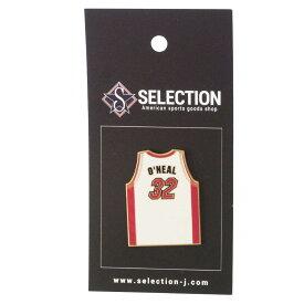 NBA シャキール・オニール マイアミ・ヒート Jersey Pin Peter&David