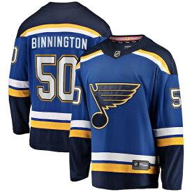 NHL ジョーダン・ビニントン ブルース ユニフォーム/ジャージ プレミア ブレイクアウェイ ロイヤル