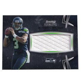 NFL ラッセル・ウィルソン シーホークス トレーディングカード 2012 Bowman Sterling Jumbo Relic Card Topps