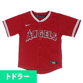 大谷翔平選手所属 MLB ロサンゼルス・エンゼルス ユニフォーム/ジャージ Toddler 2020 Replica Team ナイキ/Nike オルタネート(レッド)